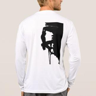Microfibra Longsleeve de la escalada Camisetas