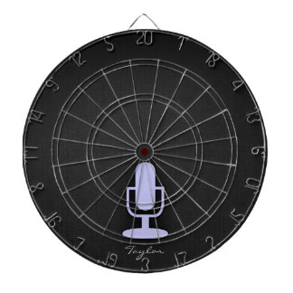 Micrófono del azul de la lavanda