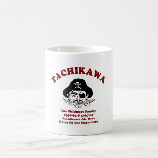 micrófono del skidmore taza básica blanca