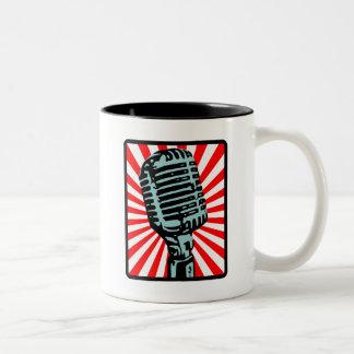 Micrófono del vintage de Shure 55S Tazas De Café