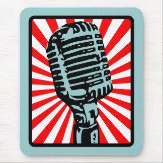 Micrófono del vintage de Shure 55S Tapete De Raton