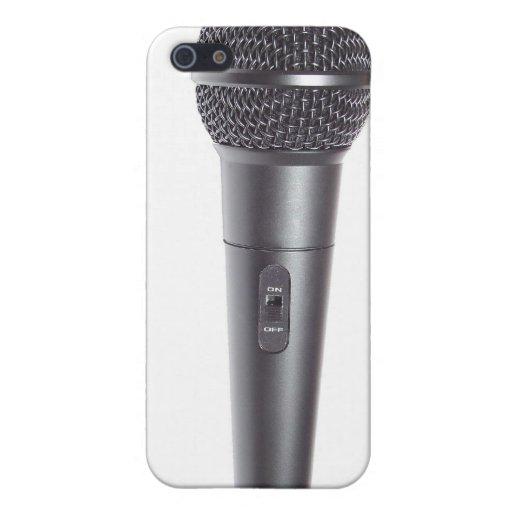 Micrófono iPhone 5 Carcasas
