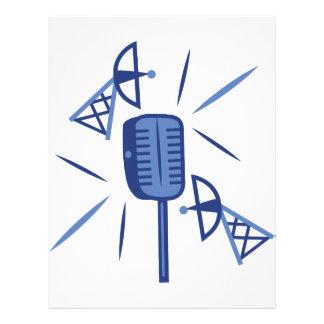 Micrófono Membretes Personalizados