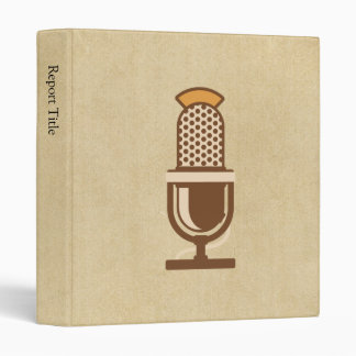 Micrófono vocal del artista
