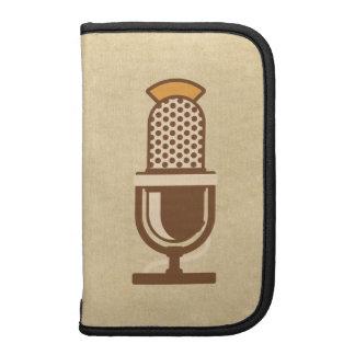Micrófono vocal del artista organizador
