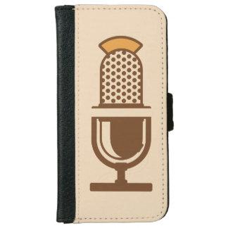 Micrófono vocal del artista carcasa de iPhone 6