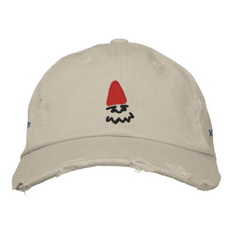 Micrognome Hat Light Embroidered Hat