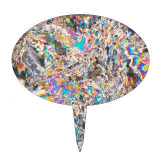 Micrográfo del alabastro decoración de tarta
