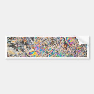 Micrográfo del alabastro pegatina para auto