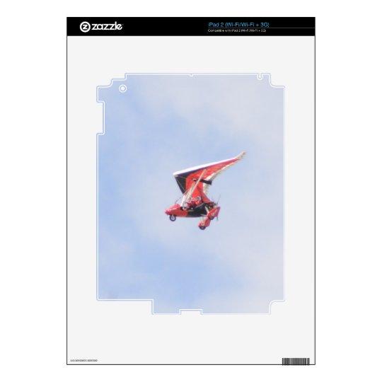 Microlight Airplane Skins For iPad 2