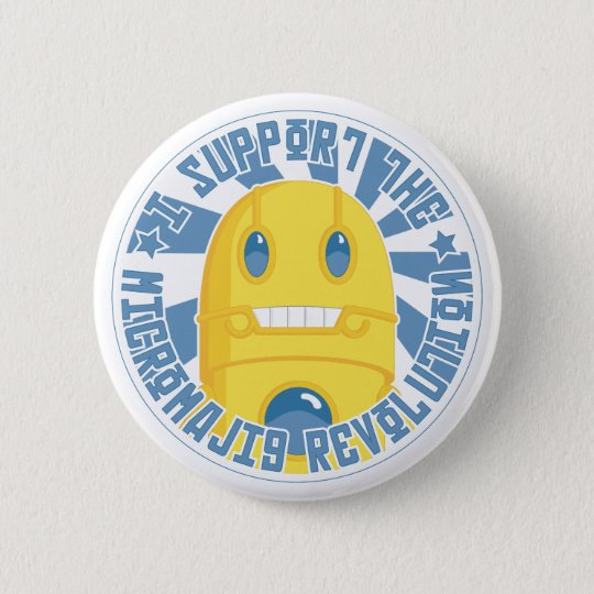 Micromajig Revolution Button