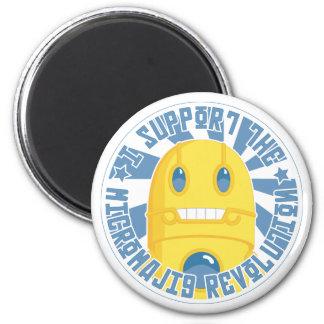 Micromajig Revolution 2 Inch Round Magnet