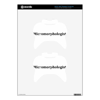 micromorphologist xbox 360 controller skin