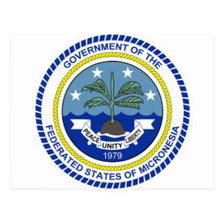 Micronesia Coat of Arms Postcard