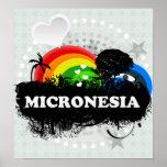 Micronesia con sabor a fruta linda impresiones