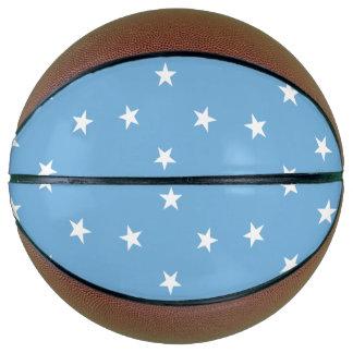 Micronesia Flag Basketball