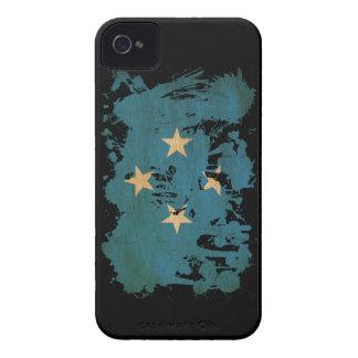 Micronesia Flag iPhone 4 Case-Mate Cases