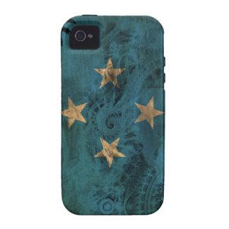 Micronesia Flag iPhone 4 Covers