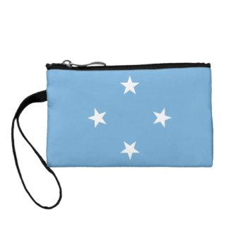 Micronesia Flag Change Purse
