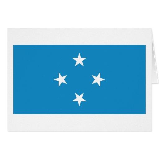 Micronesia Flag Greeting Card
