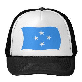 Micronesia Flag Hat