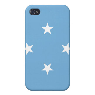 Micronesia Flag Cover For iPhone 4