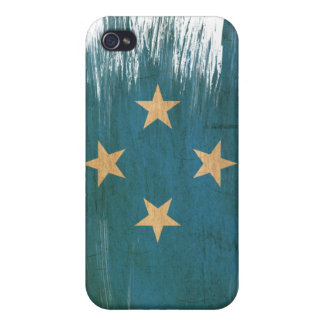 Micronesia Flag iPhone 4/4S Cover