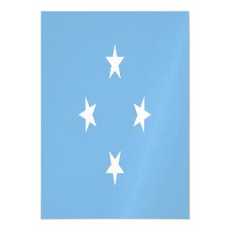 Micronesia Flag Magnetic Card