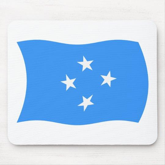 Micronesia Flag Mousepad
