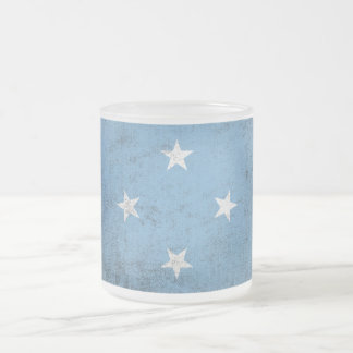 Micronesia Frosted Glass Coffee Mug