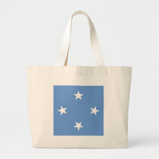 Micronesia High quality Flag Jumbo Tote Bag