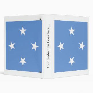 Micronesia High quality Flag Vinyl Binder