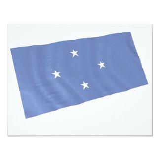 """Micronesia Invitación 4.25"""" X 5.5"""""""