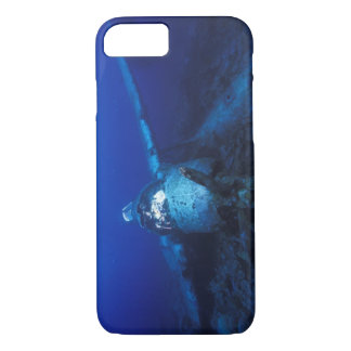 Micronesia, Palau, World Heritage Site. WWII iPhone 7 Case