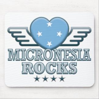 Micronesia Rocks v2 Mouse Pad