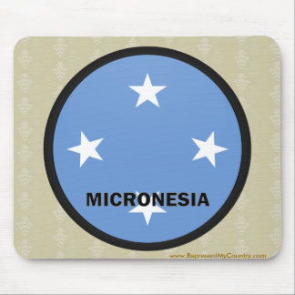 Micronesia Roundel quality Flag Mouse Pad