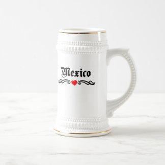 Micronesia Tattoo Style 18 Oz Beer Stein