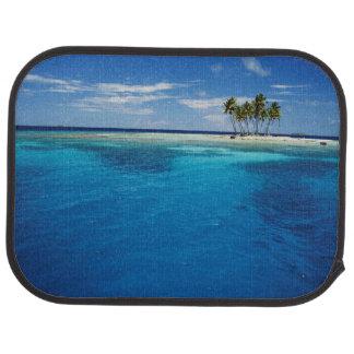Micronesia, Tonowas, View of idyllic tropical Car Floor Mat