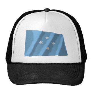 Micronesia Waving Flag Trucker Hat