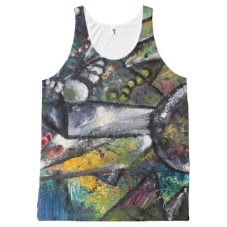 Microorganisms All-Over-Print Tank Top