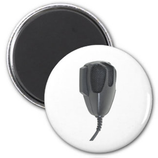 Microphone020511 2 Inch Round Magnet