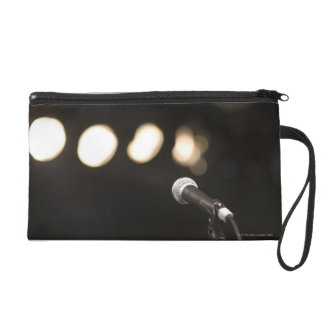 Microphone and Spotlights Wristlet