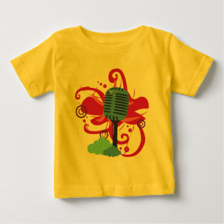 Microphone Art Explosion Infant T-Shirt