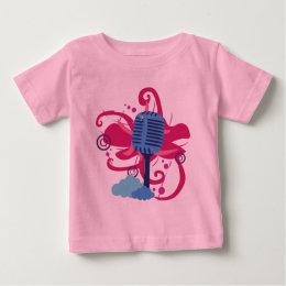 Microphone Art Explosion Infant T-Shirt