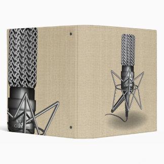 Microphone Vinyl Binders