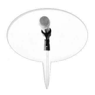 Microphone Cake Topper