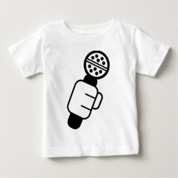 Microphone Check Baby T-Shirt