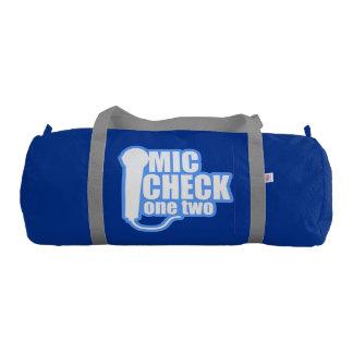 Microphone Checker Gym Bag