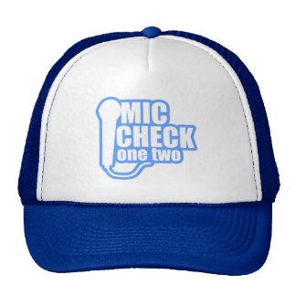 Microphone Checker Trucker Hat