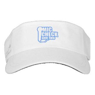 Microphone Checker Visor